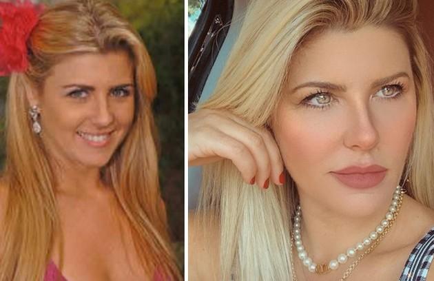 """Íris Stefanelli, do """"BBB"""" 7, era vendedora. Após o programa, tornou-se apresentadora de TV (Foto: Reprodução)"""