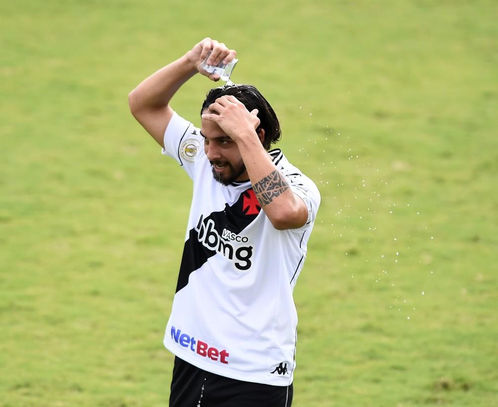 Benitez, ex-Vasco, já treina no São Paulo — Foto: André Durão