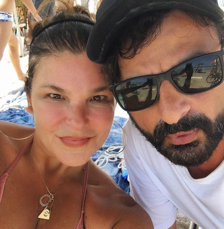 Cristiana Oliveira e Sergio Bianco (Foto: Reprodução/Instagram)