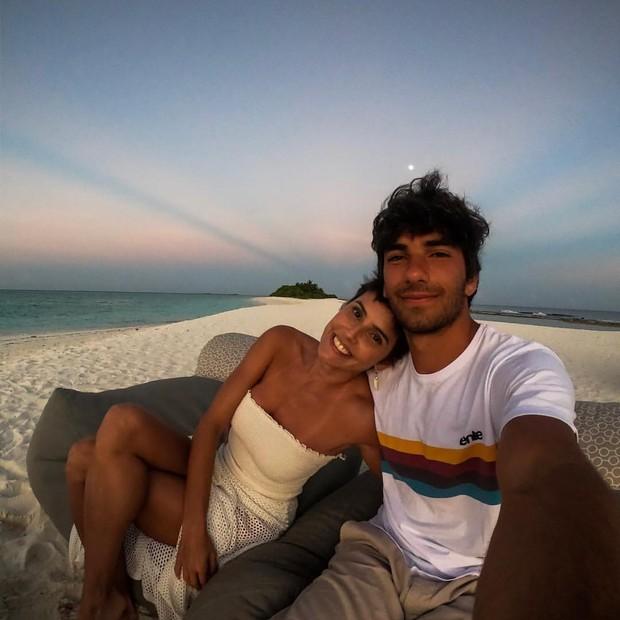 Deborah Secco e Hugo Moura férias nas Maldivas (Foto: Reprodução/Instagram)