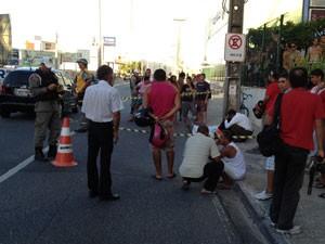 acidente bancarios (Foto: Walter Paparazzo/G1PB)