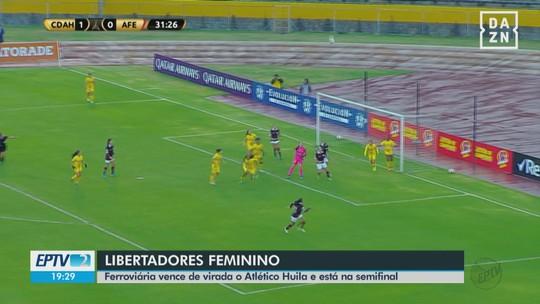 Maglia celebra boa atuação nas quartas da Libertadores e exalta garra da Ferroviária