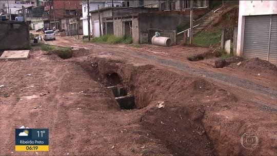 Prefeitura de Francisco Morato começa obras em área de deslizamento