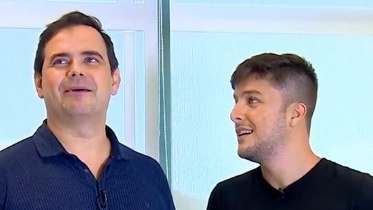 Quintal da Bola com Carioca: humorista imita Luiz Carlos Jr. e testa paixão pelo Botafogo
