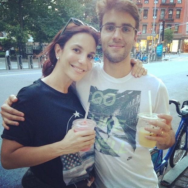 Ivete Sangalo e Daniel Cady (Foto: Instagram / Reprodução)