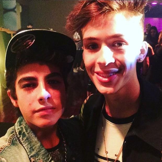 Lucas Burgatti e João Guilherme (Foto: Reprodução/Instagram)