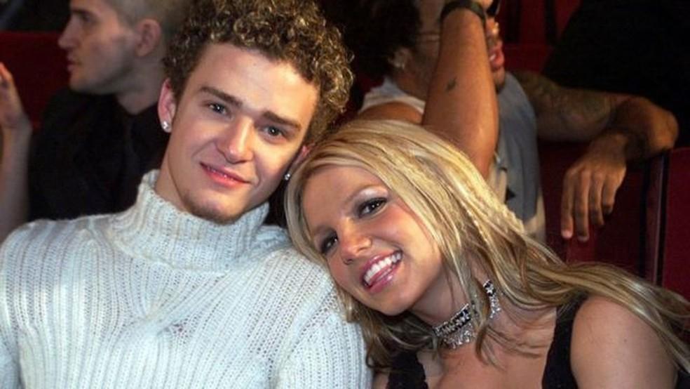 Britney Spears e Justin Timberlake tiveram namoro turbulento — Foto: Getty Images/BBC