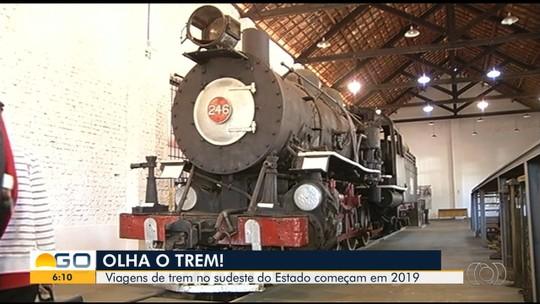 Consórcio planeja reativar ferrovia para transporte de passageiros no sudeste de Goiás