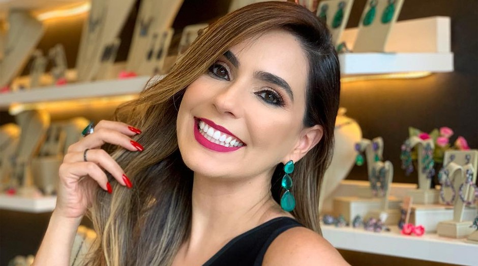 A empresária Ilana Porto: ela é a modelo de suas criações no Instagram (Foto: Reprodução/Instagram)
