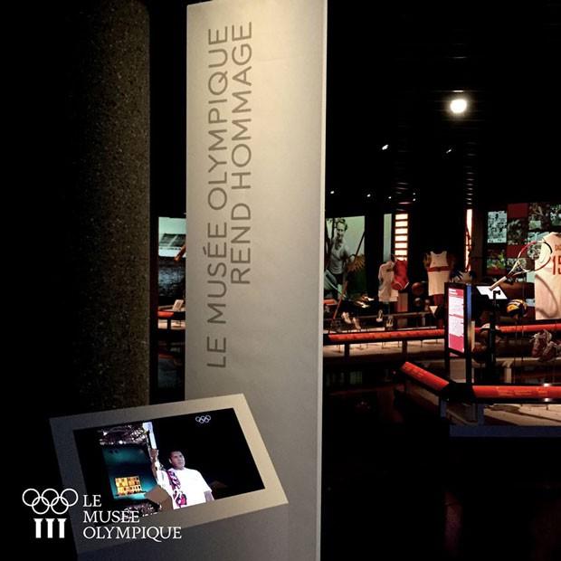 Museu olímpico na Suíça (Foto: Divulgação)