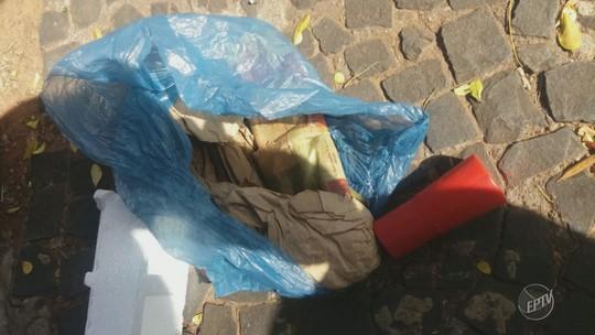 Comerciante encontra sacola com explosivos em rua de Sumaré