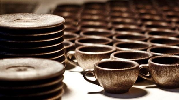 Xícaras da Kaffeform, empresa criada por designer alemão (Foto: Divulgação)