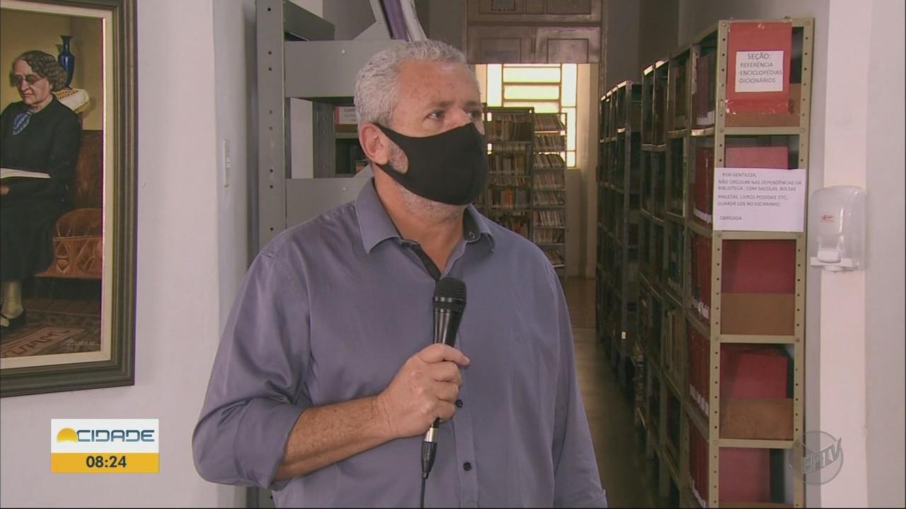 Biblioteca de Pouso Alegre retoma empréstimo de livros