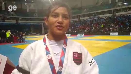 Após renovar com o Flamengo, Sarah Menezes conquista primeiro título nacional em novo peso