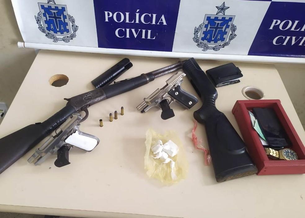Homem morre em confronto com policiais no recôncavo da Bahia — Foto: Divulgação/Polícia Civil