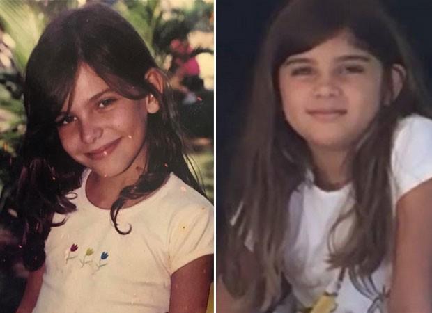 Mariana Goldfarb na infância seria parecia com a enteada segundo fãs (Foto: Reprodução)
