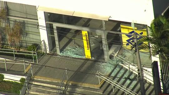 Assalto a banco termina em tiroteio na Zona Sul de São Paulo