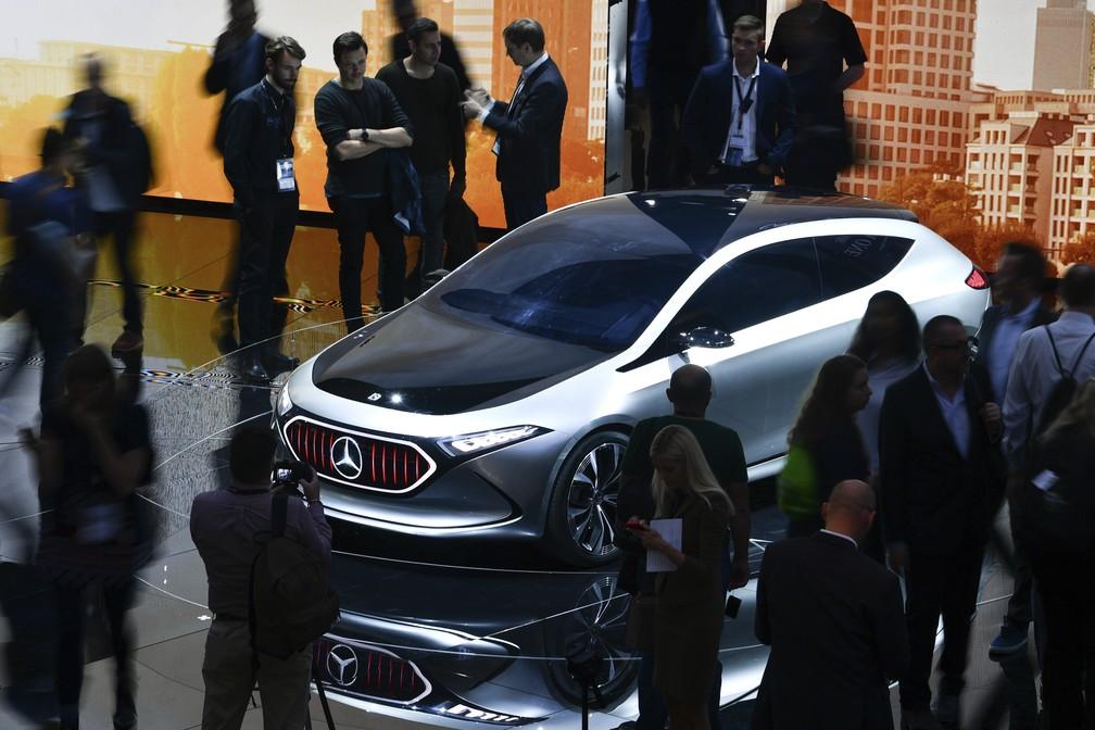 Mercedes-Benz Concept EQA (Foto: Uwe Anspach/dpa via AP)