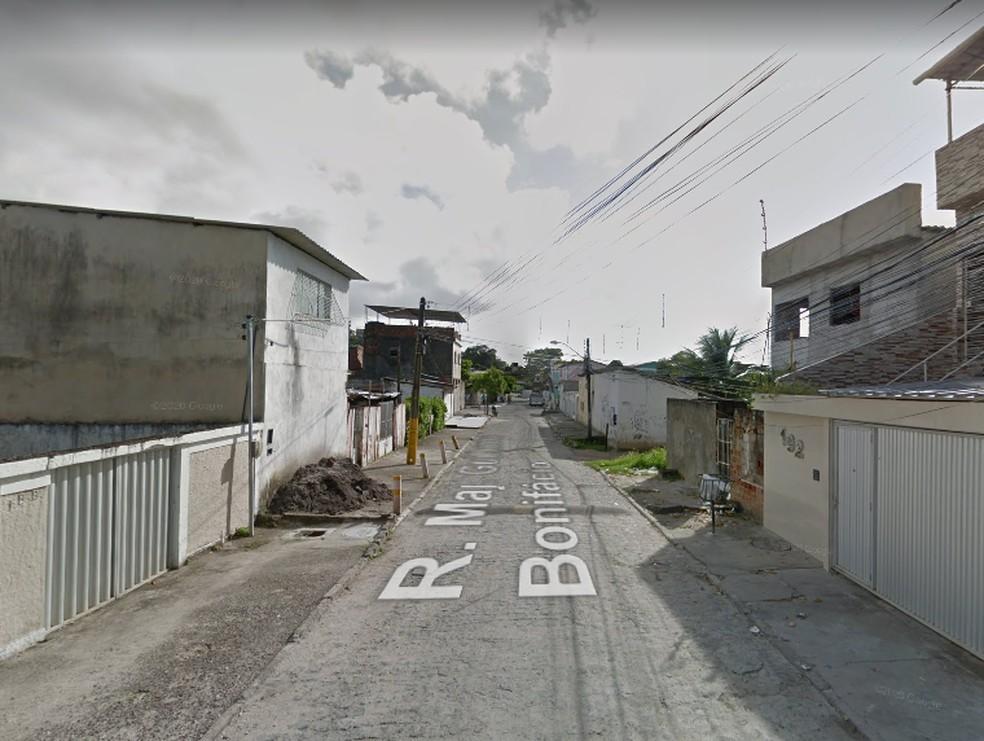 Crime aconteceu no bairro de Água Fria, na Zona Norte do Recife — Foto: Google Street View/Reprodução