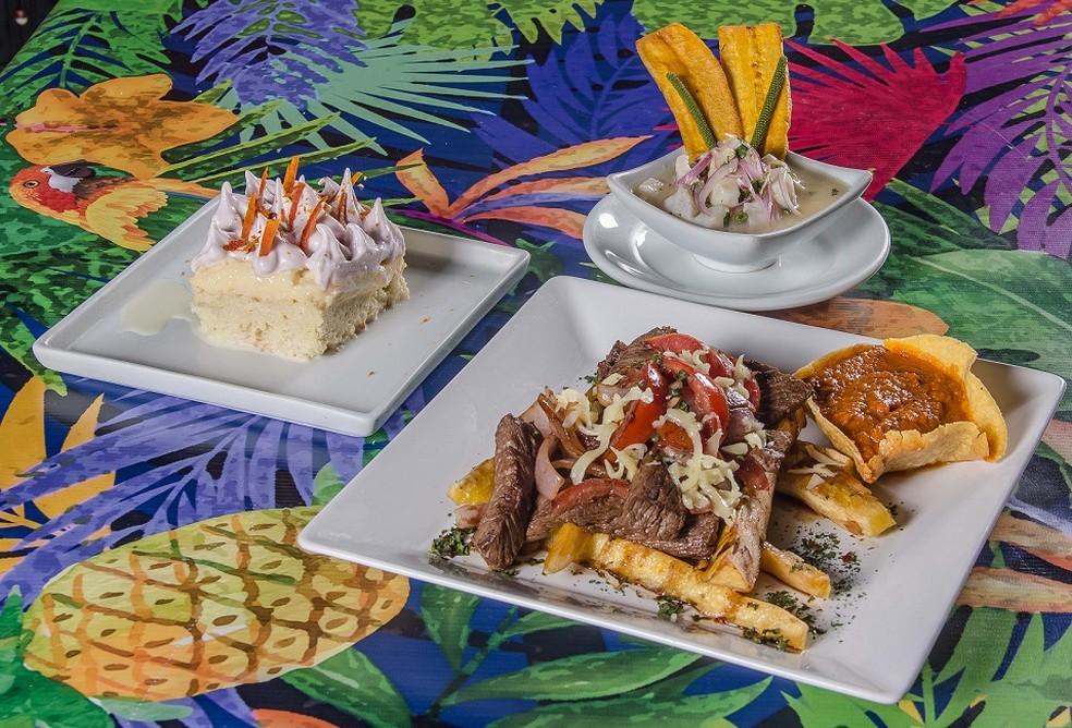 Menu do restaurante El Paso na 8ª edição do festival Panelas da Casa, em Brasília — Foto: Rômulo Juracy/Divulgação