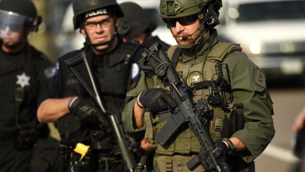 As novas tecnologias facilitam a cooperação entre as forças de segurança locais, estaduais e federais (Foto: Getty Images via BBC News Brasil)