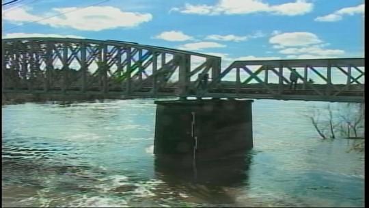 Nível do rio Ibirapuitã parou de crescer em Alegrete