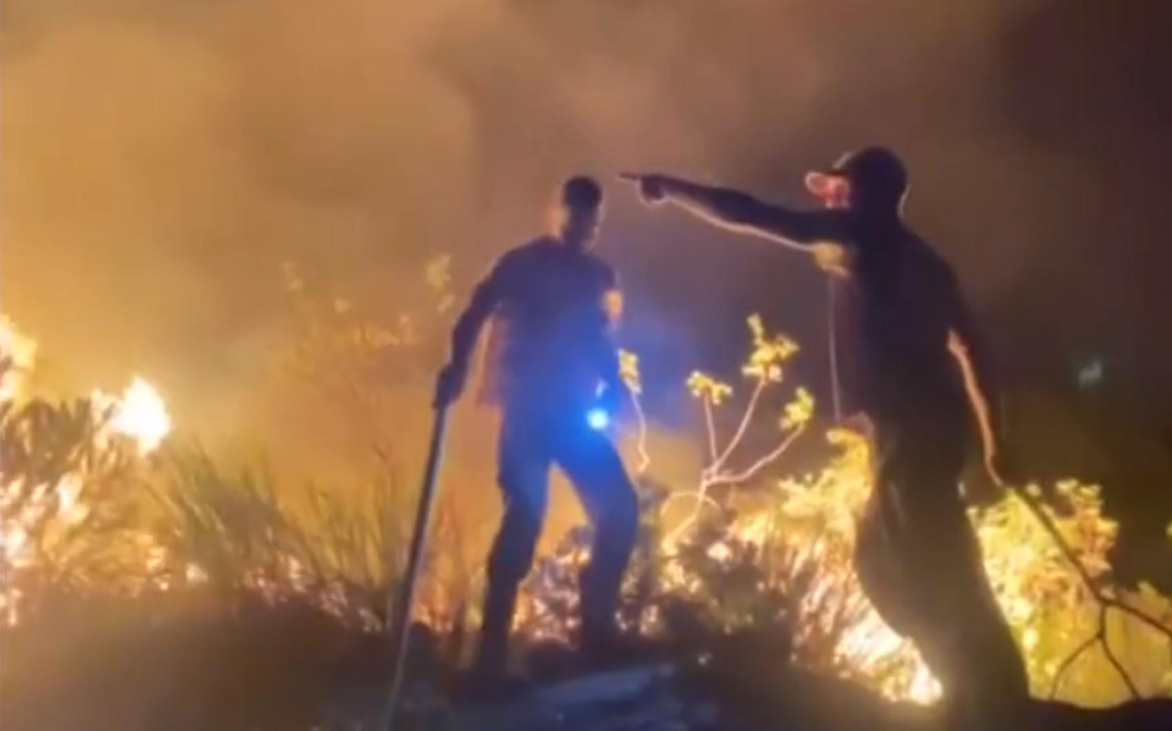 Bombeiros continuam no combate aos incêndios florestais no oeste e norte da Bahia e Chapada Diamantina