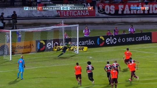 Cobranças de pênaltis viram tormento para o Atlético-PR na temporada