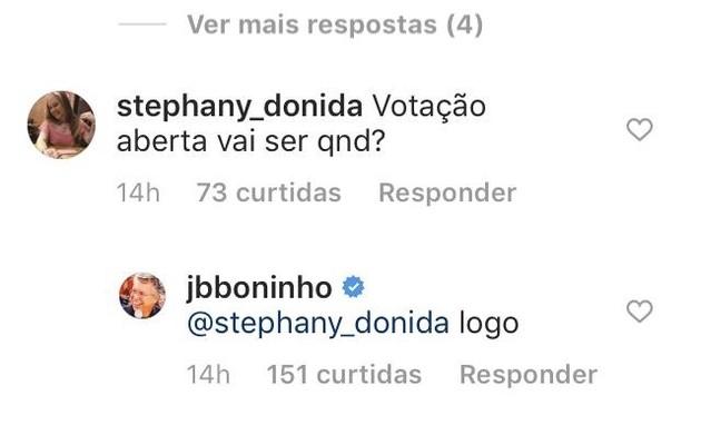 Boninho fala sobre votação no 'BBB' (Foto: Reprodução)