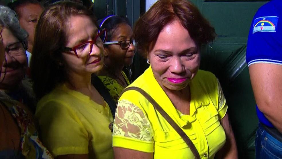 Maria do Carmo divide o nome e dia do nascimento com o feriado da Padroeira do Recife (Foto: Reprodução/TV Globo)