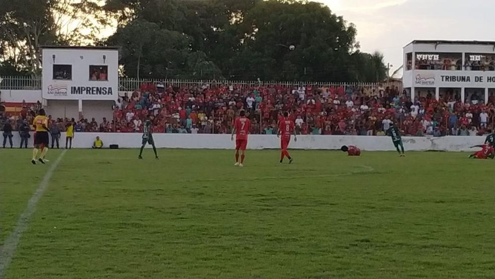 Juventude x Pinheiro - Copa FMF 2019 — Foto: Divulgação