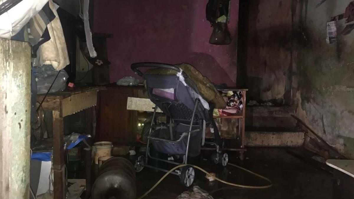 Incêndio atinge quarto de imóvel no bairro do Rangel, em João Pessoa