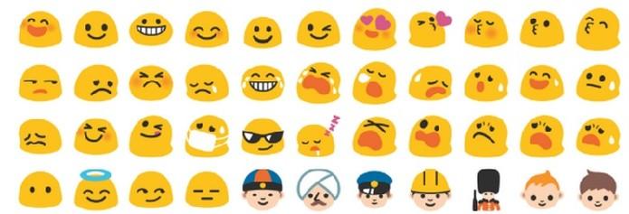 Lista de Emoji do Google tem alterações entre o Android Kit Kat e Lollipop (Foto: Reprodução/Emojipedia)