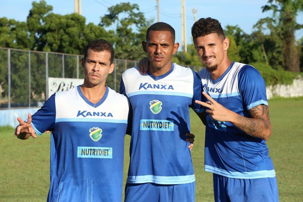 Marconi, Dos Santos, Manoel Altos (Foto: Luis Júnior/Altos)