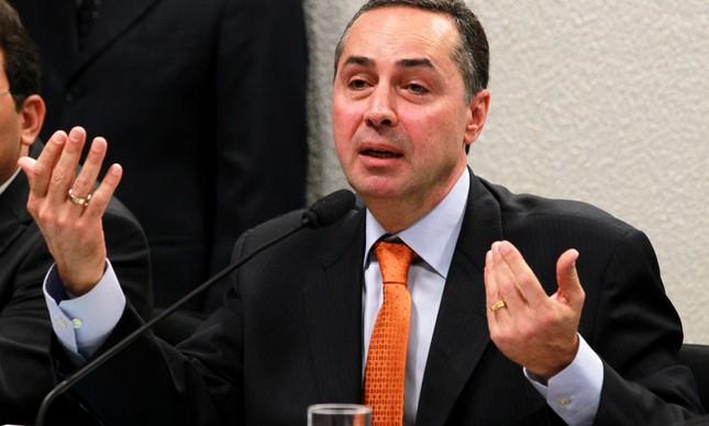 Luís Roberto Barroso durante sua sabatina no Senado, em 5 de junho de 2013