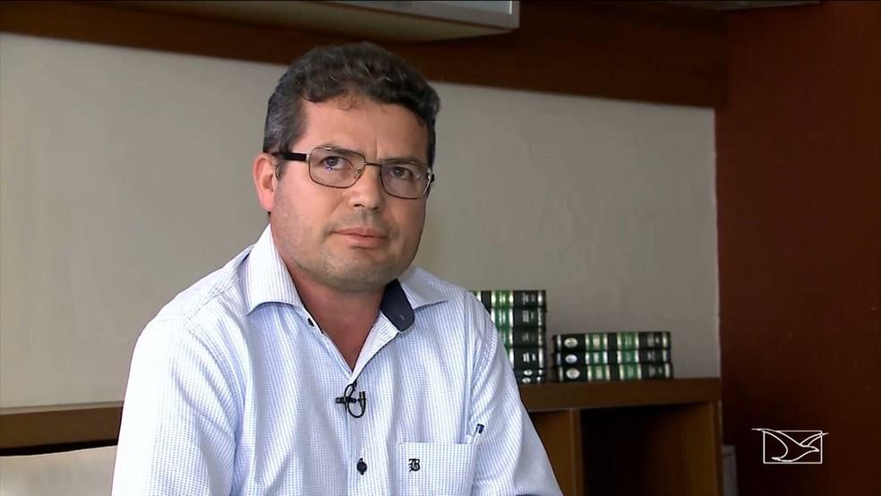 Francisco Alves de Araújo é o atual prefeito de Bom Jardim — Foto: Reprodução/ TV Mirante