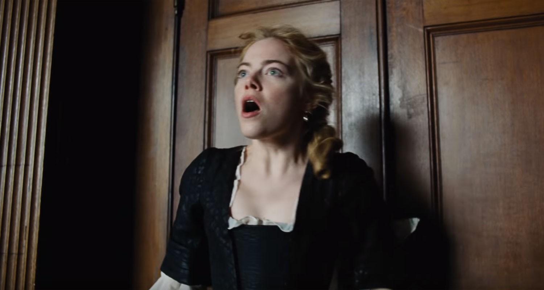 Emma Stone em cena de 'The Favourite' (Foto: Divulgação)