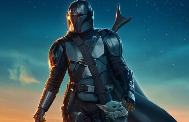 """Com os dois primeiros capítulos exibidos nesta segunda-feira na Globo, """"The Mandalorian"""" é a primeira série com atores da saga """"Star wars"""" para a televisão. Até então, apenas animações foram produzidas  (Foto: Divulgação)"""