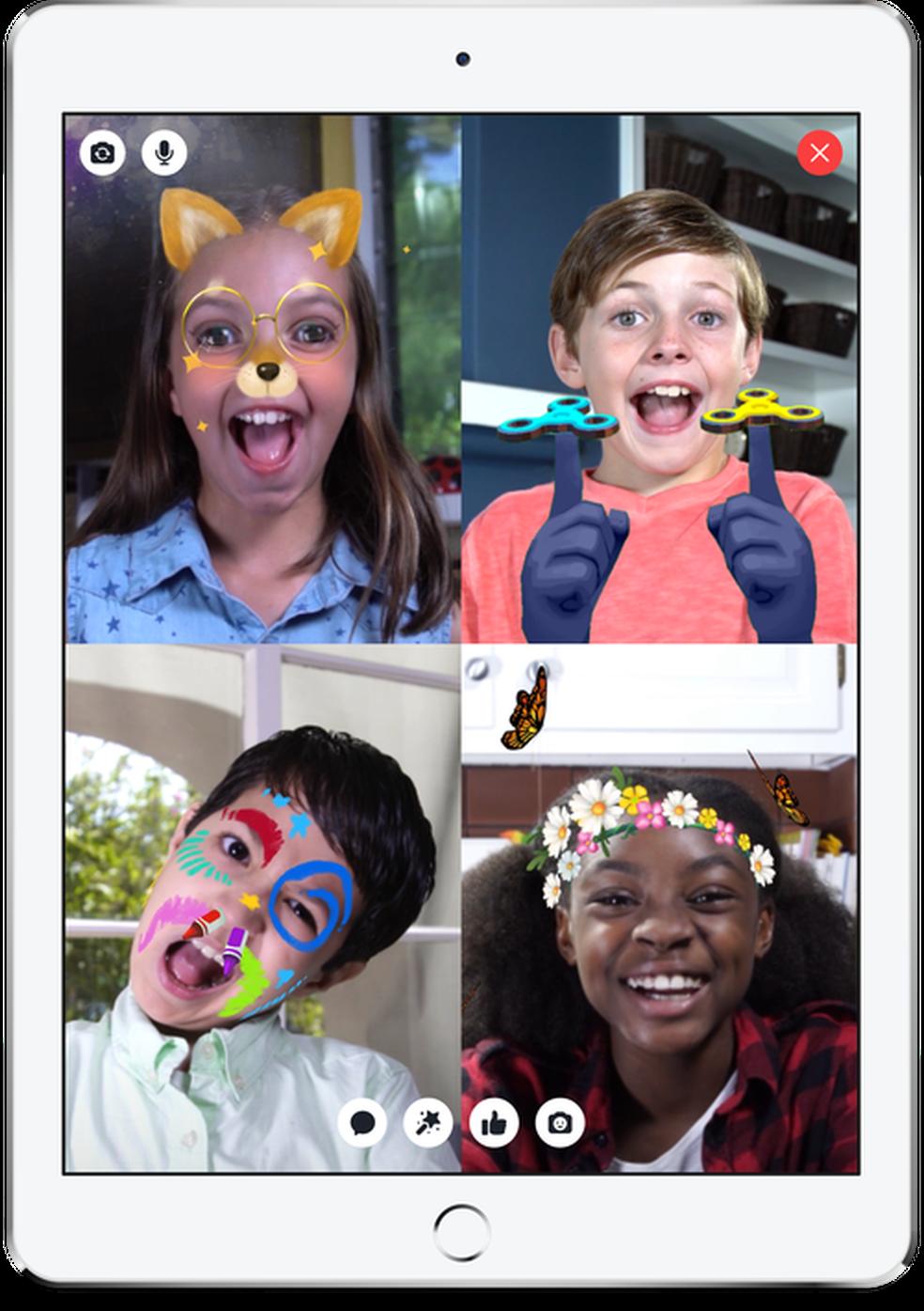 mencao messenger2 - Facebook lança Messenger Kids, aplicativo para crianças menores de 13 anos