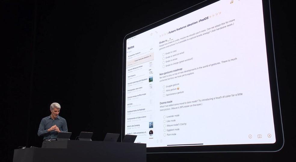 Apple iPad terá um sistema operacional próprio — Foto: Reprodução
