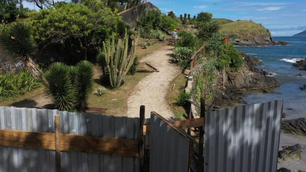 Prazo para conclusão de obras no Canto do Forte, em Cabo Frio, RJ, é de seis meses — Foto: Divulgação/Prefeitura de Cabo Frio