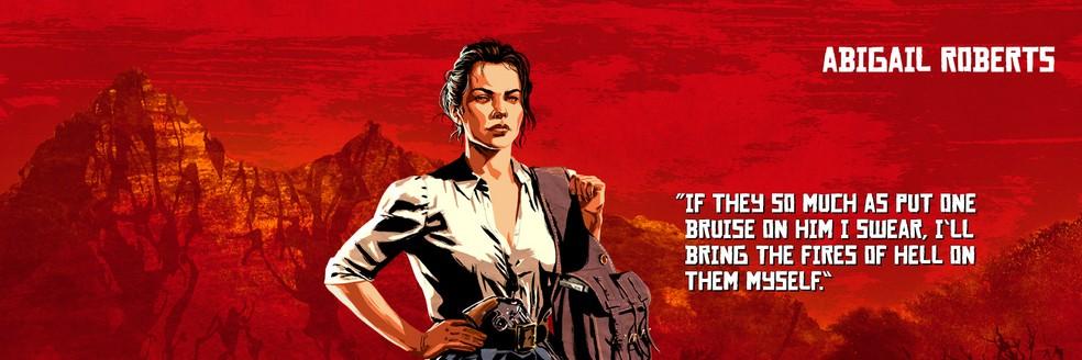 Abigail Roberts, de Red Dead Redemption 2 — Foto: Divulgação/Rockstar
