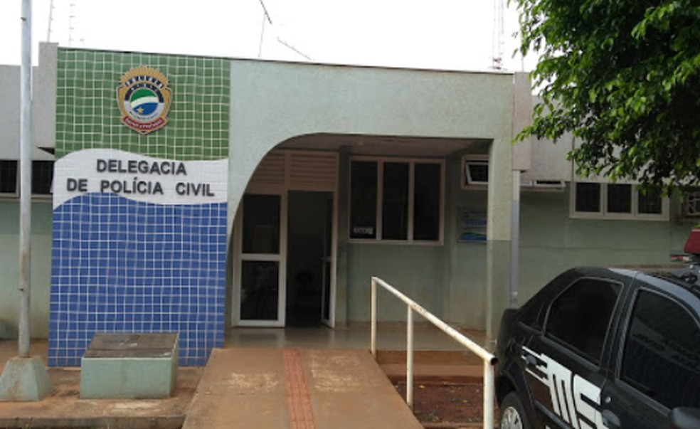 Caso foi registrado na Delegacia de Polícia de Sidrolândia.— Foto: Google Maps/Reprodução