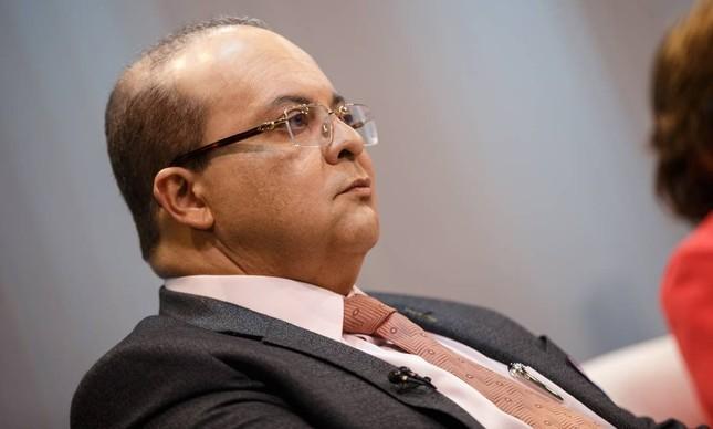 O governador do DF, Ibaneis Rocha