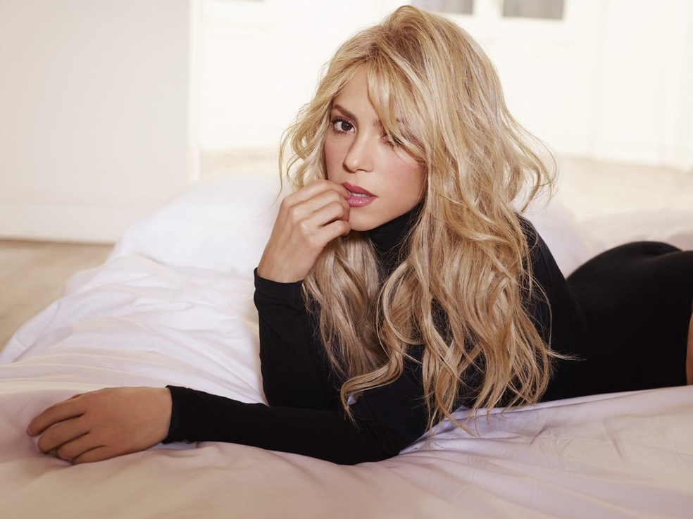 -  Shakira entrevista ao G1  Foto: Divulgação
