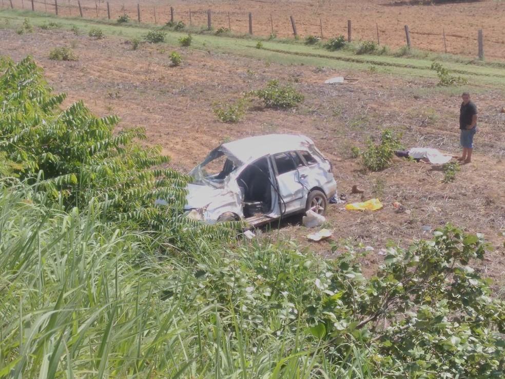 Acidente que deixou duas pessoas mortas foi na TO-080 (Foto: Divulgação)