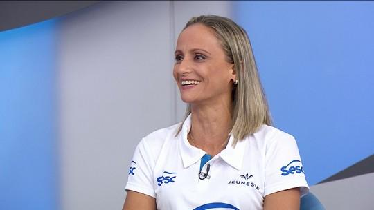 Após deixar as quadras, Fabi reforça time de comentaristas do Grupo Globo