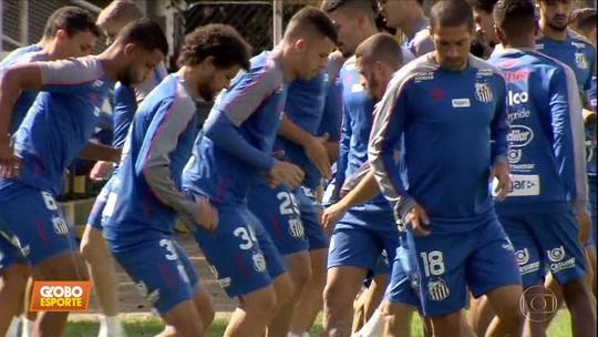 O líder Santos pega o Cruzeiro, de Rogério Ceni