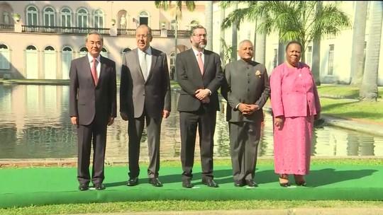 Ministros dos países do Brics se reúnem no Rio