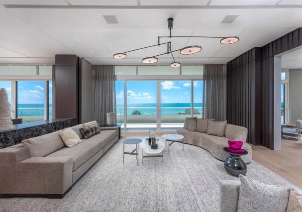 Novo apartamento de Kim e Kanye em Miami (Foto: Divulgação)